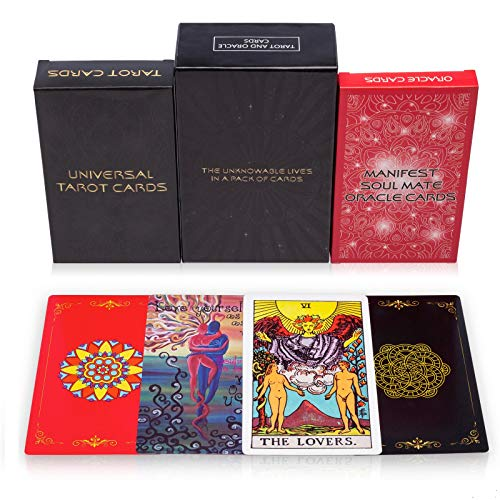 Tarot Cards Deck and Manifest - Soul Mate Oracle Cards