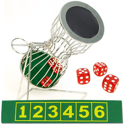Compact Size Chuck a Luck Game Set by Trademark