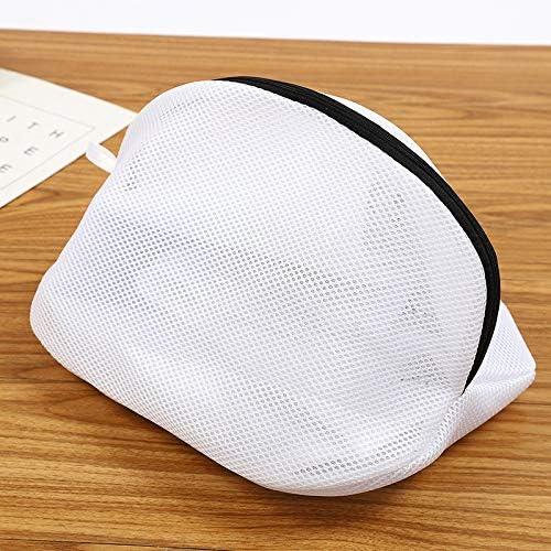 con cierre de cremallera resistente y cierre de cremallera para zapatillas lavadora RXING 1 bolsa de malla para lavander/ía profesional lavadora
