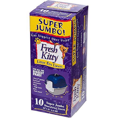Royal Pet Fresh Kitty Super Jumbo Drawstring Litter Box (Super Jumbo Kitty Litter Liners)