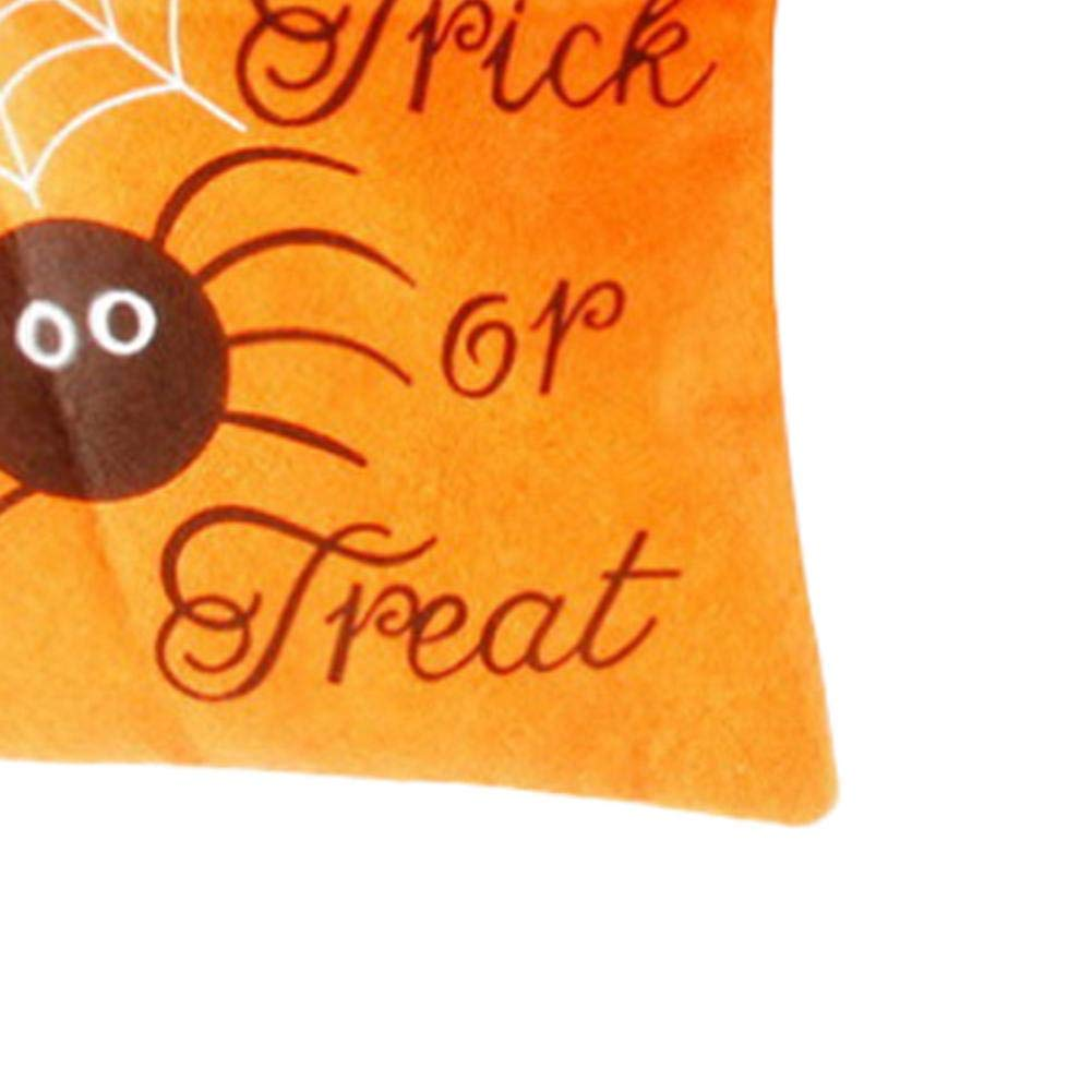 Sac fourre-tout Halloween Trick or Treat Sac citrouille sachets /à bonbons Trick or Treat Pochette surprise pour sac cadeau pour enfants sur le th/ème de Halloween f/ête jaune