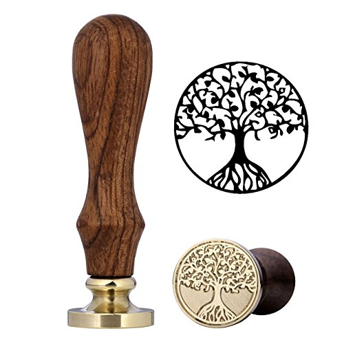 cozycabin-vintage-retro-wood-classic-wax-seal-stamp-blessing-words-seal-wax-stamp-tree-of-life