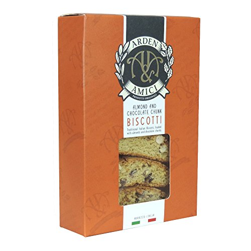 Arden & Amici - Almond and Chocolate Chunk Biscotti - 150g (Case of 16) by Arden And Amici