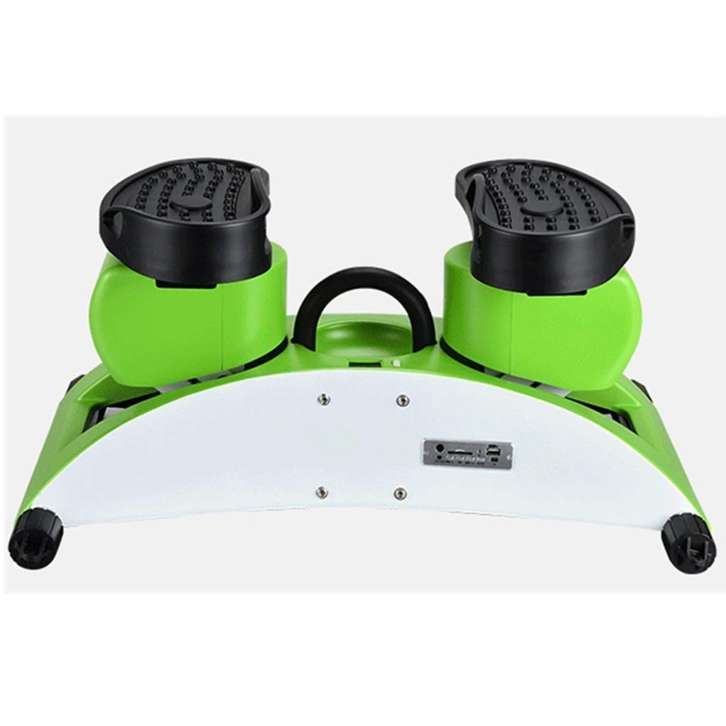 Tabuji Steppers,Aerobic Fitness Exercise Machine,Twist Hydraulic Stepper, Multi-Function Mute Fitness Stepper Step Machine with Resistance Bands