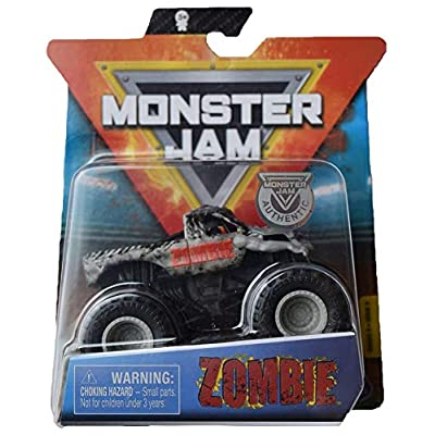 MonsterJam 1:64 Scale Series 9 Zombie, Gray: Toys & Games