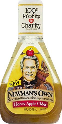 Newman's Own Honey Apple Cider Vinaigrette 16 oz (Pack of 3)