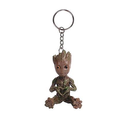 Doriscos Baby Groot Llavero Figura de Guardians of The ...