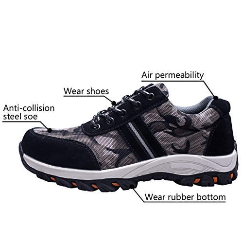 Safety Shoes Protect Shoes Shoes Optimal Toe Work Women's AqwR56