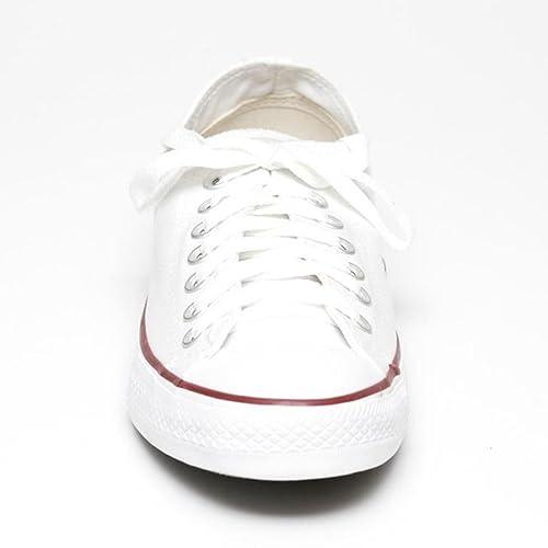 Zapatillas Deportivas Converse Clásicas All Star Blancas Bajas Hombre Mujer por Anandashop - Blanco, EU 37.5: Amazon.es: Zapatos y complementos