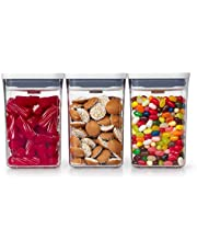 OXO 11236300 NEW Good Grips 3-Piece POP Container Value Set White