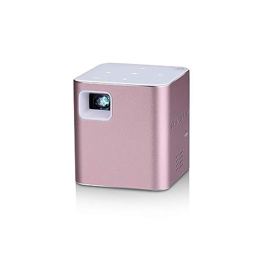 QLPP Mini proyector de vídeo Inteligente con Pantalla de 120 ...