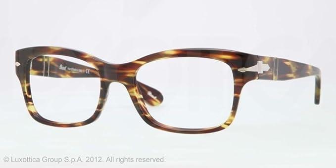 Persol Gafas anteojos PO3054V 938 marco verde de plástico ...
