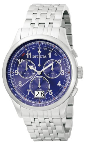 Men's  Vintage Collection Reserve 7000 Chronograph Stainless Steel Watch - Invicta 0417