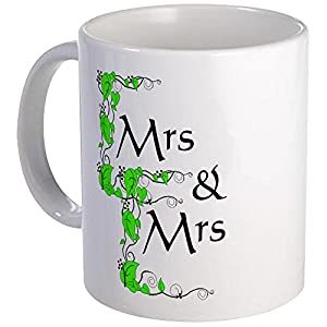 CafePress – Mrs And Mrs Mug – Unique Coffee Mug, Coffee Cup