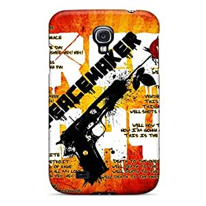 Samsung Galaxy S4 XYA1914ClaH Customized Vivid Green Day Pictures Shock Absorbent Cell-phone Hard Cover -DannyLCHEUNG
