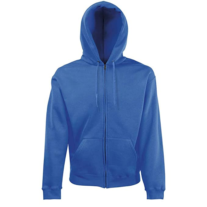 Fruit of the Loom - Sudadera - para Hombre Azul Azul Real S
