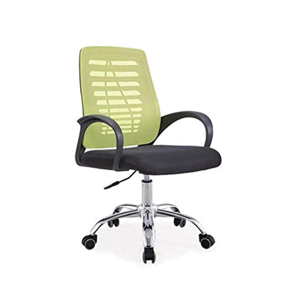 Hxnyz Office Chair Staff Office Chair Simple Modern mesh Office Swivel Chair Home Computer Chair (Color : Blue) (Color : Green)