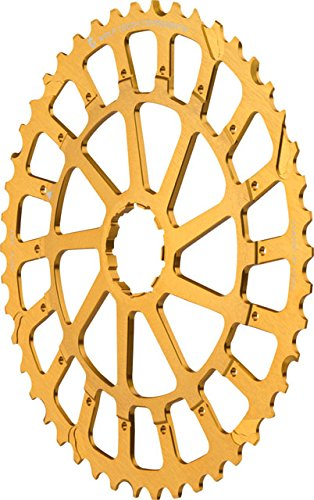 Wolf Tooth Components Giant Cog for SRAM XX1/X01 Gold, 46t by Wolf Tooth Components
