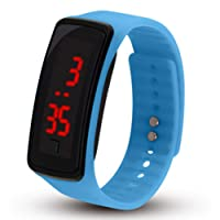 Reloj de Pulsera Digital para niños, Pantalla táctil, LED, Reloj de Pulsera, Reloj Deportivo para niños, Reloj de Pulsera, Reloj de café.