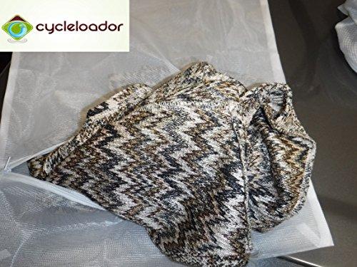 Cycleloador Mesh Wash Bags - Set of 2 (Sweater & General)