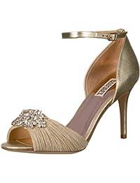 4fa9c5276d8b Amazon.com  Gold - Sandals   Shoes  Clothing