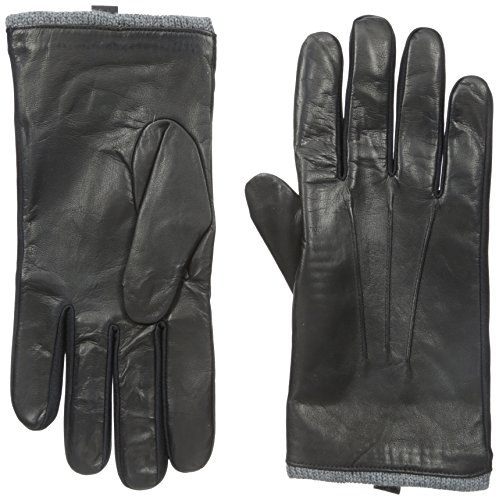Isotoner Men's Smartouch Stretch Leather Pull On Glove wi...