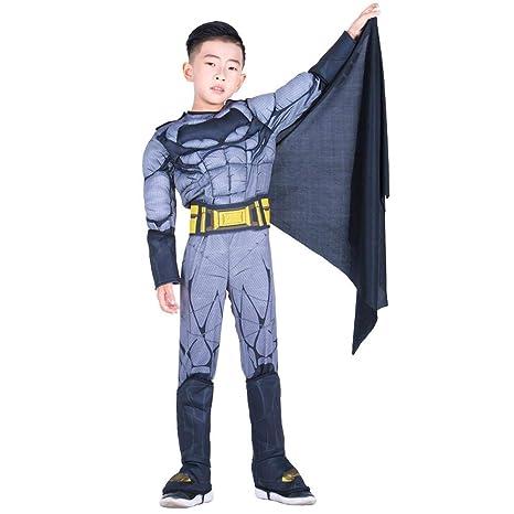 Cosplay Ropa Traje Negro De Cosplay De Batman Ropa DC Hero ...