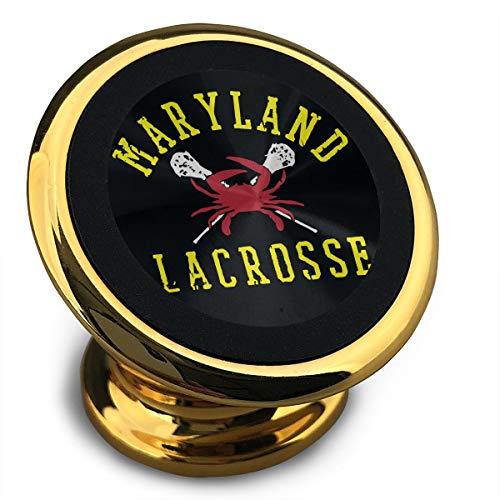 Maryland Crab Lacrosse Printed Mobile Phone Holder Magnetic Car Holder