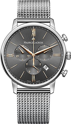 Maurice Lacroix Eliros EL1098-SS002-311-1 Mens Chronograph Swiss Made