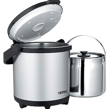 Amazon.com: Thermos Cook - Sistema de transporte (acero ...
