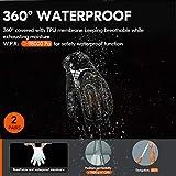 Vgo 2-Pairs 32°F Waterproof High-Dexterity