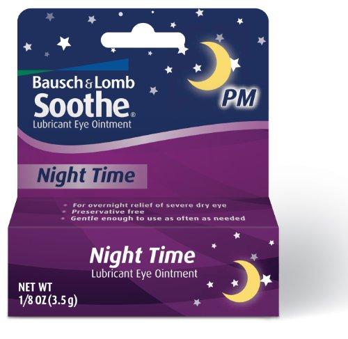 Bausch & Lomb avancée secours conservateur Nuit Temps libre Lubrifiant pommade ophtalmique, Tubes de 3.5g (Pack de 2)