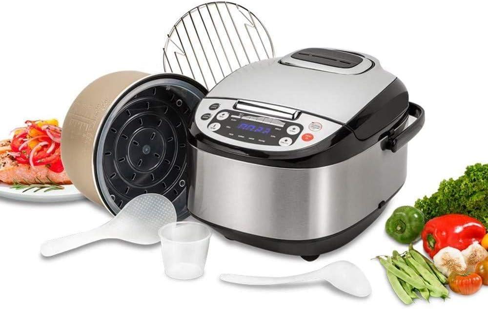 Base Robot de Cocina Multifunción con Voz, Programable 24 Horas, Capacidad de 5 litros (10 Comensales). 4 Menús Preconfigurados, 8 Programas Automáticos: Amazon.es