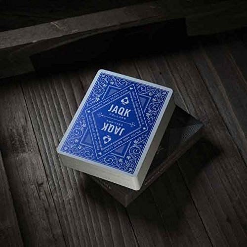 Theory11 JAQK Blue Edition Deck Playing Cards by theory11