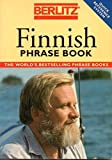 Finnish Phrase Book with Dictionary (Berlitz Phrasebooks) by Berlitz Guides (1993-03-17)