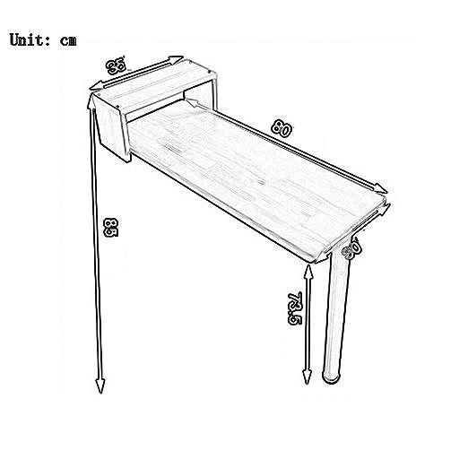 Amazon.com: Mesas mazhong plegable para colgar en la pared ...