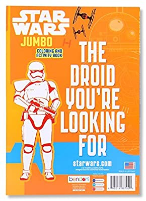 Star Wars The Force Awakens Coloring Book - Offer Includes 1 Book - 96 Pages - Great Holiday/Christmas Gift for Kids - BOOK MAY VARY