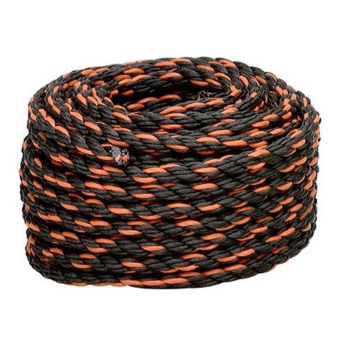 Lehigh Group TR250HD Twisted Polypropylene California Truck Rope 1//2 x 50