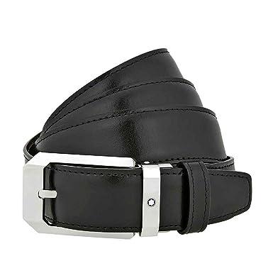 Amazon.com: Montblanc Cinturón Classic Line Rectangular ...