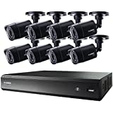 LOREX LHV00161TC8 16-Channel MPX HD-DVR with 1TB & 8 720P Security Cameras