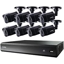 LOREX LHV00161TC8 16-Channel MPX HD-DVR with 1TB & 8 720P Security Cameras
