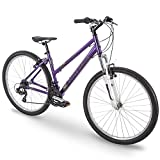 27.5″ Royce Union RMT Womens 21-Speed All-Terrain Mountain Bike, 17″ Aluminum Frame, Twist Shift, Eggplant Purple For Sale
