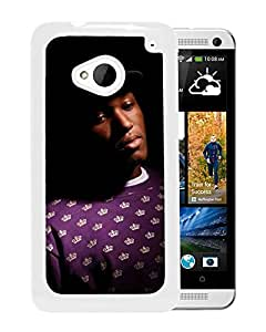 Beautiful Designed Cover Case With Joker Smock Cap Look Shadow (2) For HTC ONE M7 Phone Case