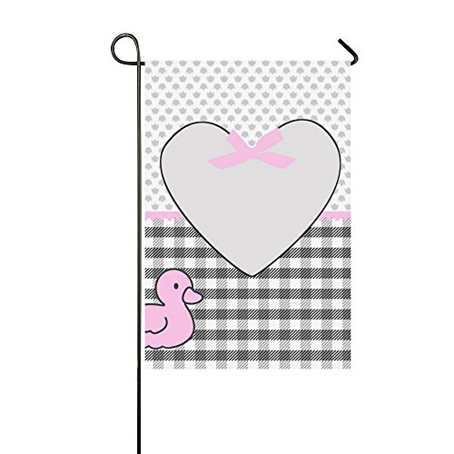 RYUIFI Home Decorative Outdoor Double Sided Birth Announceme