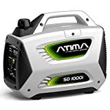 Atima SD1000i 1,000 Watt 4-Stroke Gas-Powered Quiet Portable Inverter Generator,CARB Compliant