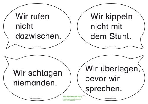 Klassenregeln grundschule bildkarten  Klassenregeln für die Grundschule mit Edgar, dem Schaf: Amazon.de ...