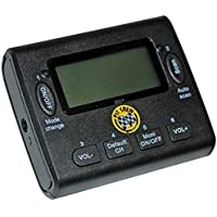 Klein Electronics PCR-SCAN-UHF PitCrew Race UHF Scanner, 50 Memory Channels/PC Programmable, Frequency Scanner with clear audio/earpieces included, FM radio built in, Frequency Band for Scanner 440.000 – 470.00 MHz