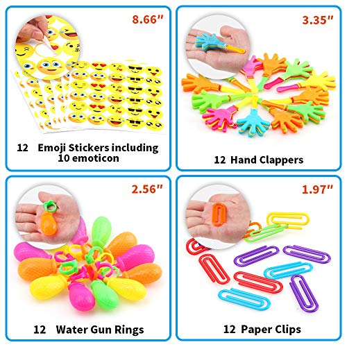 Amy&Benton 120PCS Prize Box Toys for Classroom Pinata Filler Toys for Kids Birthday Party Favors Assorted Carnival Prizes for Boys and Girls Treasure Box / Chest Prizes Toys for Classroom