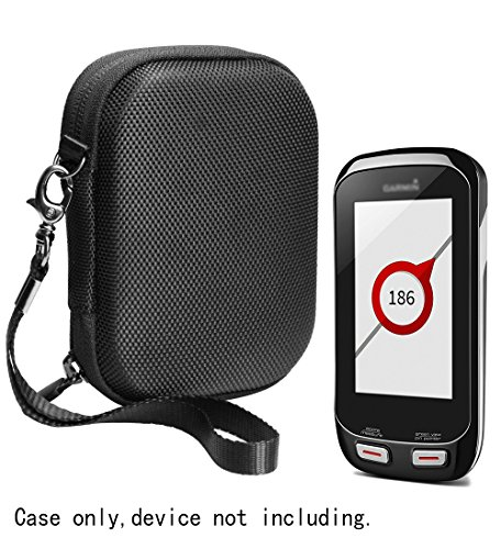 Golf Course GPS Case for Garmin Approach G8 Golf Course GPS,Skygolf Skycaddie Touch Gps, mesh pocket for accessories like wall charger and cable, elastics trap to secure the GPS (Black) by CaseSack
