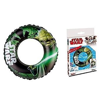 lively moments FLOTADOR/Anillo Flotante/flotador Star Wars con maestro Yoda aprox. 65cm: Amazon.es: Juguetes y juegos